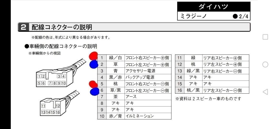 スピーカー交換(ケンウッド KFC-VS16)