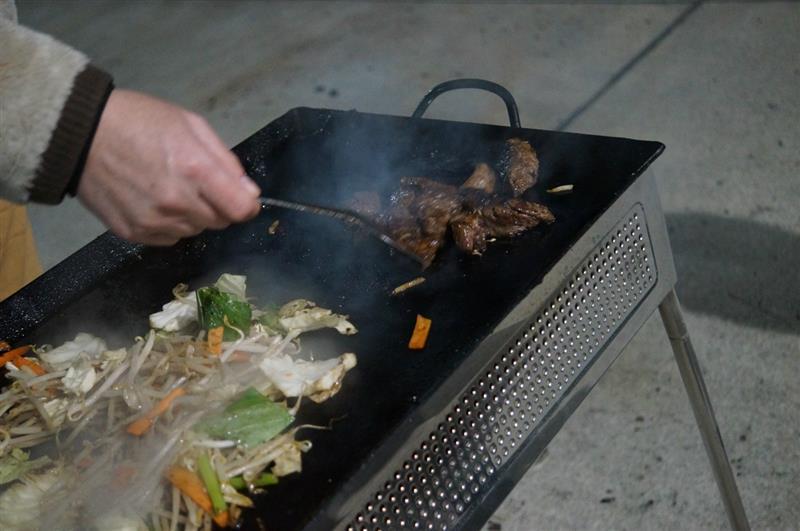 今回のys BBQ適量で終わっています^^
