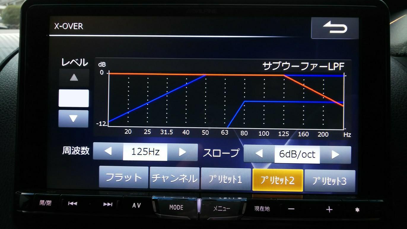 BIG-X イコライザー設定