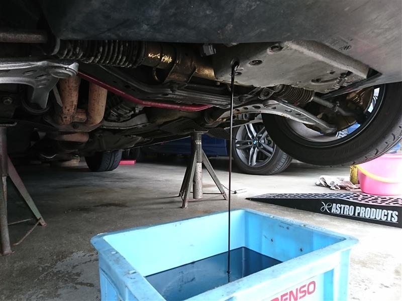 エンジンオイル交換(Castrol EDGE RS)