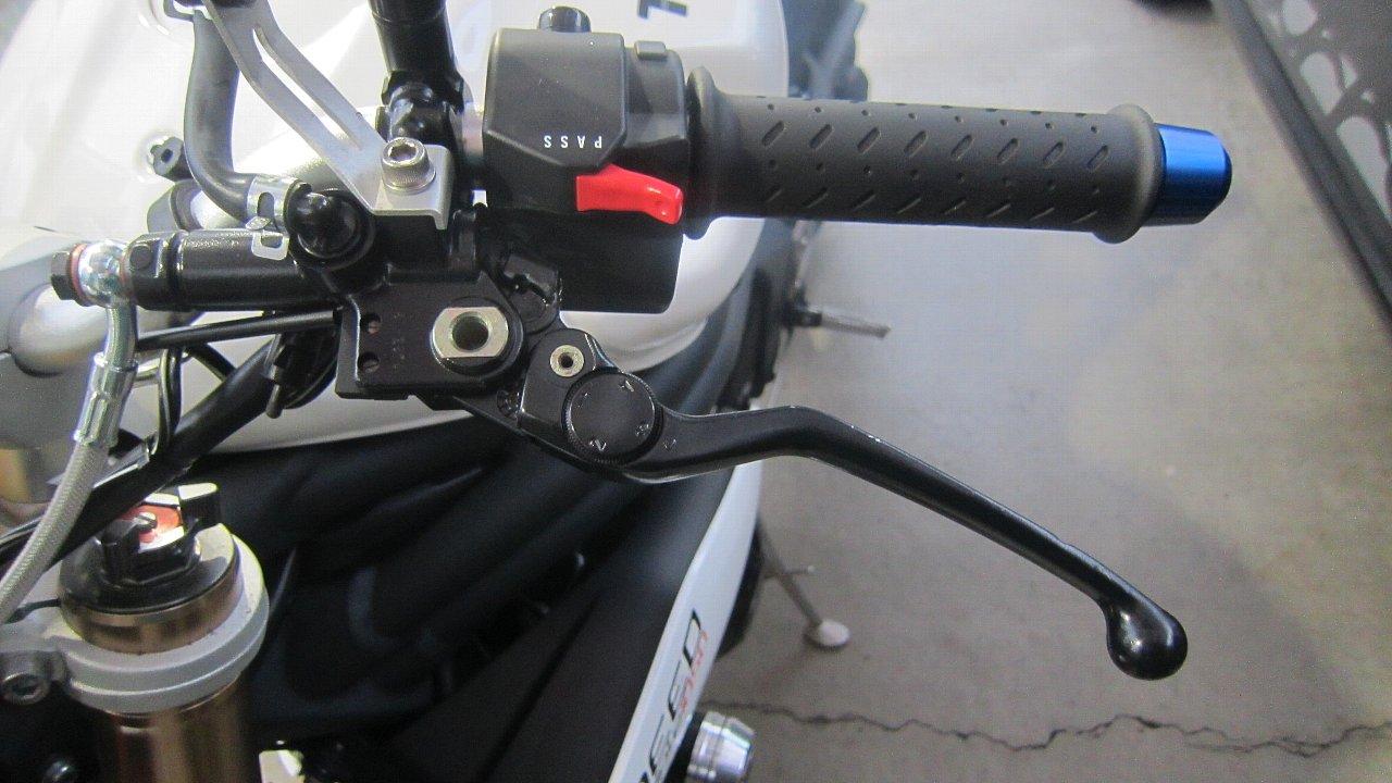 クラッチ油圧化 ブレンボクラッチマスター取り付け