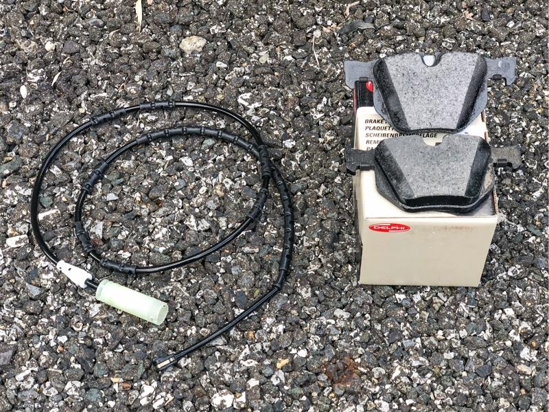 リアブレーキパッド・センサー交換