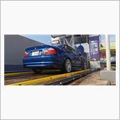 からの洗車!