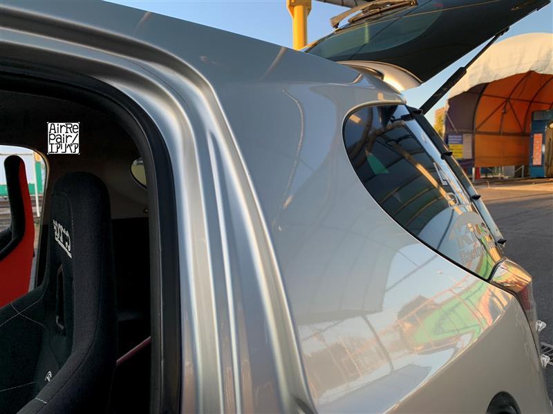 ドロップダンサー2施工後の初洗車