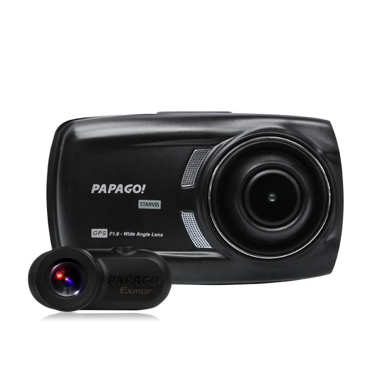 MINIクーパーに前後2カメラドラレコ GoSafeS70GS1を取り付け!