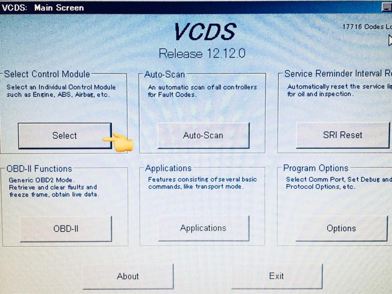 VCDS コーディング  サイドブレーキでDRL消灯:. あの子との間にもはや隠し事はない!
