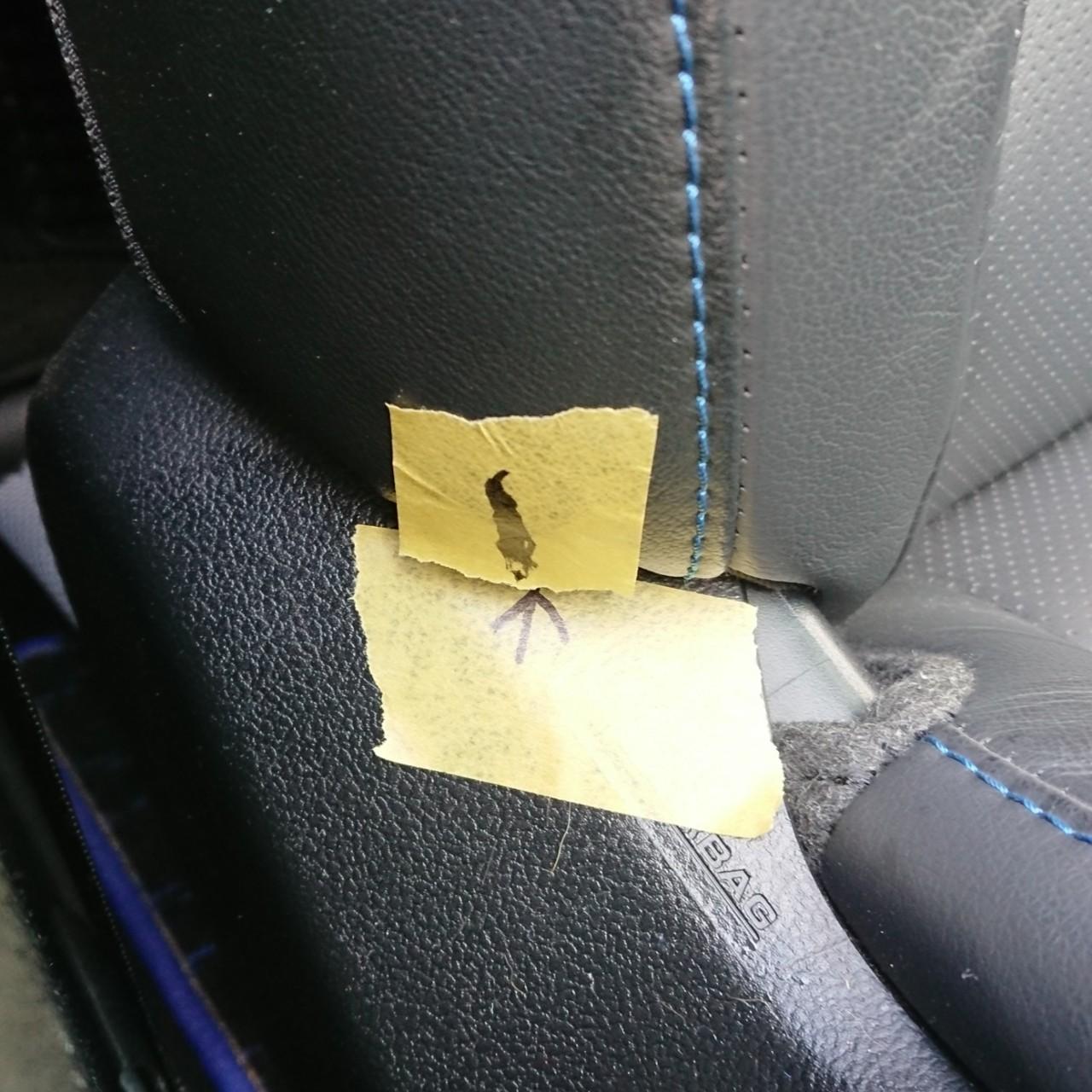 シートベルトバックル リコール