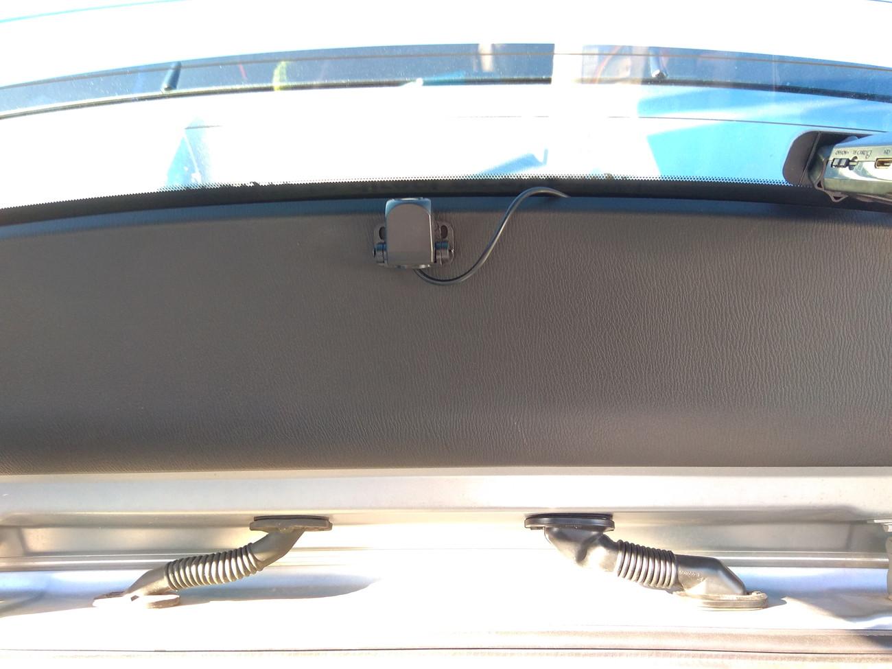デジタルインナーミラー(ミラー型ドラレコ)の取り付け その2
