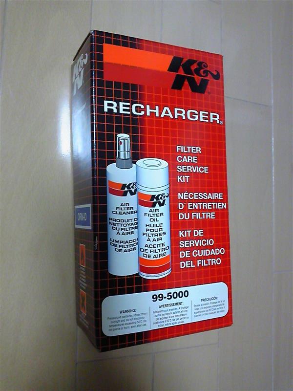 K&N エアクリーナー洗浄