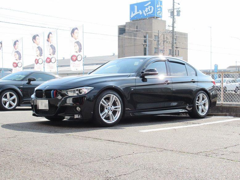 黒い悪魔にさようなら..BMW F30 320d ディクセル ディクセルMブレーキパッド