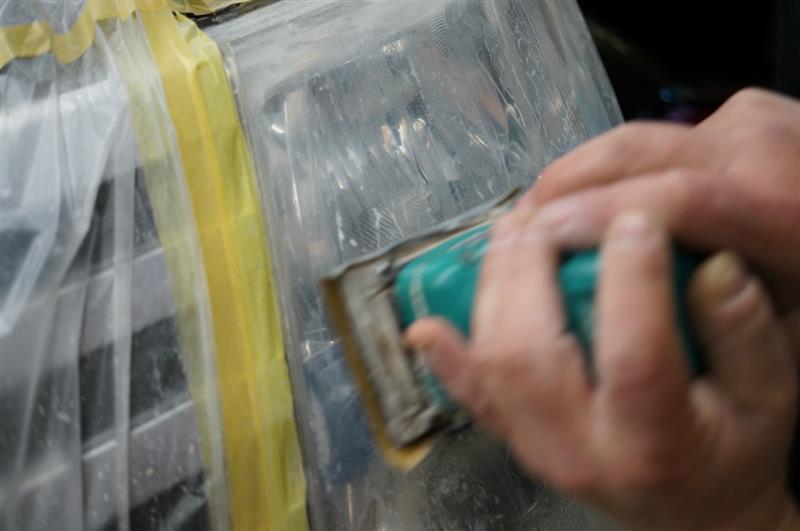 透明に磨き作業でのエロライト化を進めていきます^^
