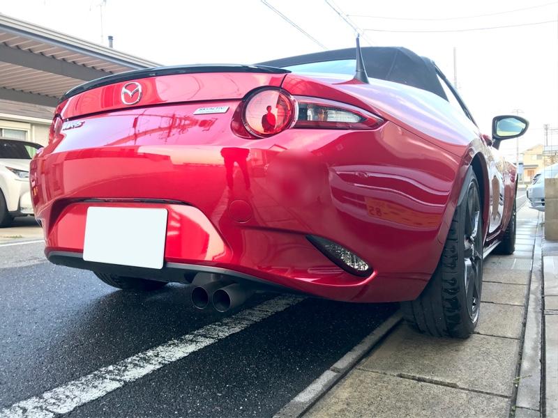 ◆ロードスター,洗車しました(^^)