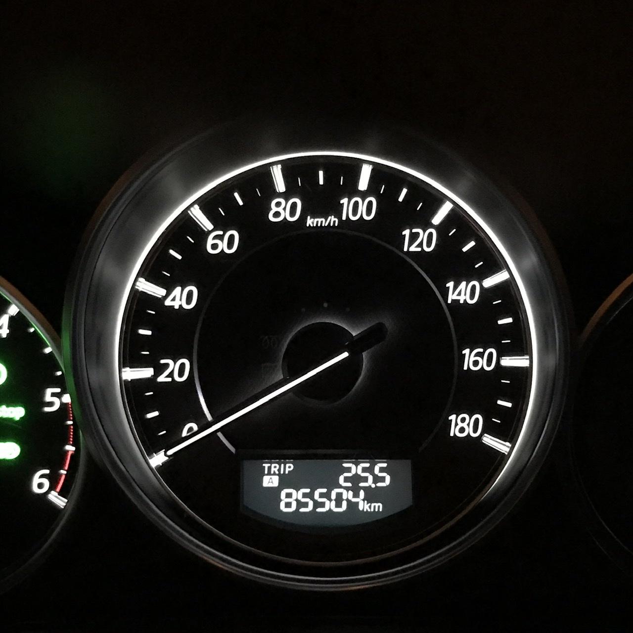 スタッドレス→サマータイヤ 85500km