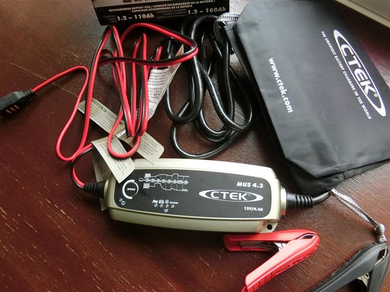 CTEK(シーテック)Multi US4.3 バッテリーチャー