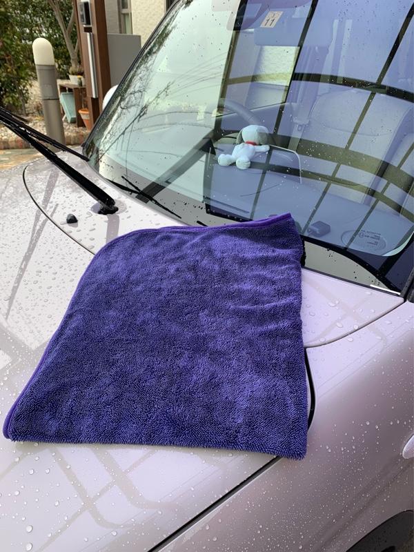 シリコン洗車とラパンも洗車🧽(後編)