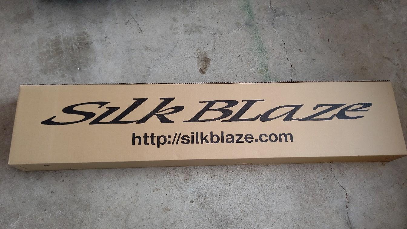 Silk Blaze Lynx フロントエアロ取り付け