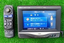 ランドクルーザー70 ランクル73(改)パナソニックポーターブルカーナビ(CN-P02)装着のカスタム手順1