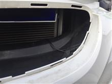 3シリーズ クーペ BMW E92[LCI] フロントカメラ取付とバックカメラ映像も外付モニターへ接続(その1)のカスタム手順2