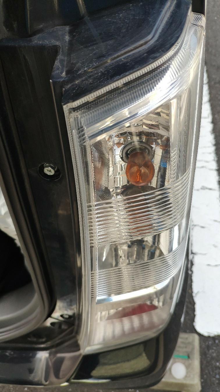 テールランプ LED切れ