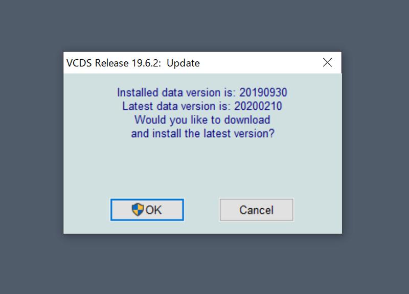 VCDS 19.6.2 最新版Update
