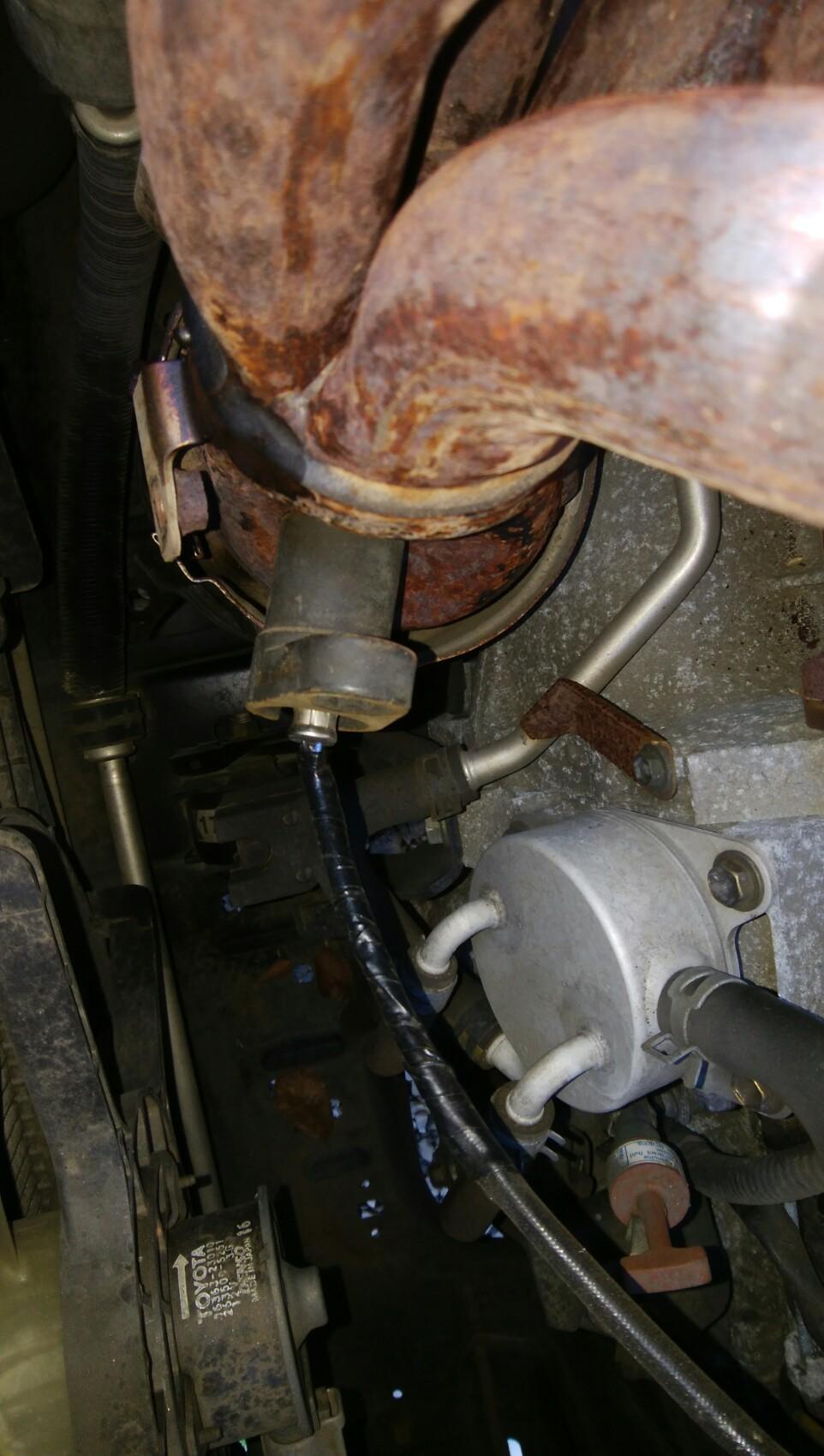 1AZエンジンのO2センサー交換
