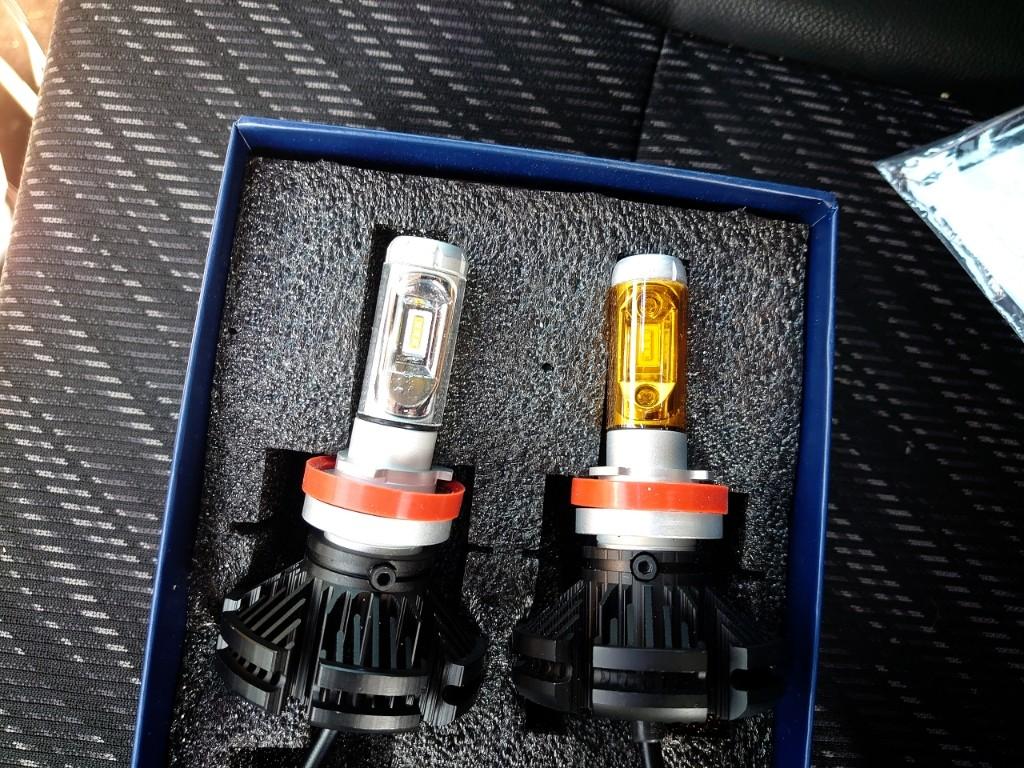 フォグランプ再LED化
