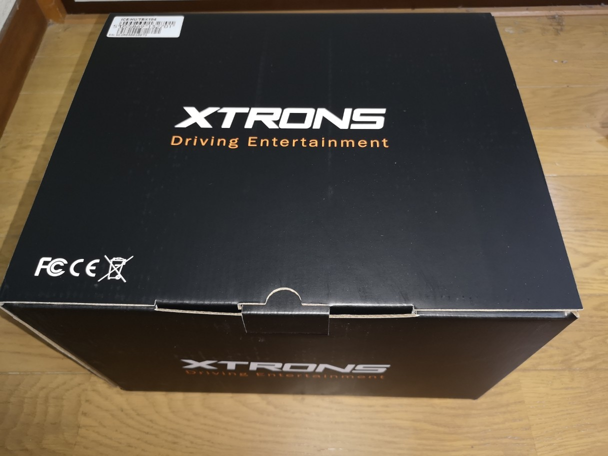 Androidナビ XTRONS TBX104取り付け