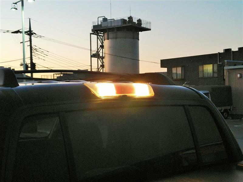 カーゴランプ(ハイマウントストップランプ横、作業灯)