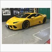 【Lamborghini Huracan】DRLコーディング&デイライトキット取付の画像