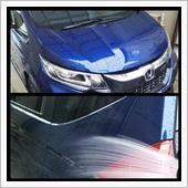 2020.03.29軽く洗車と簡易コーティング