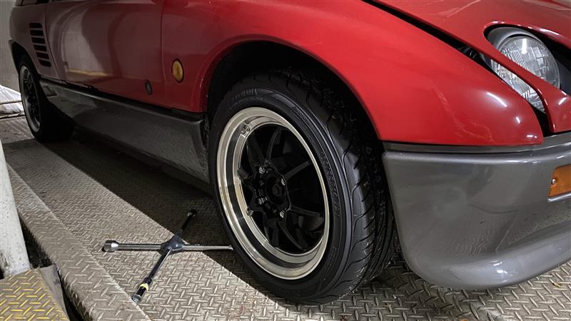 タイヤ交換 to S-Drive