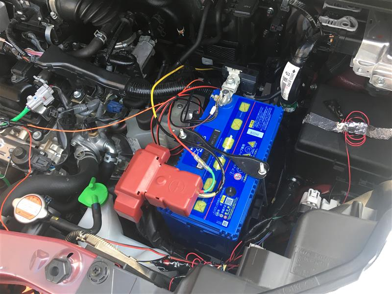 鉛バッテリー交換カオスN80/3AとEV走行質問