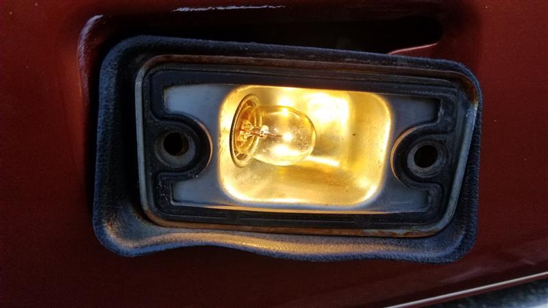 バックランプ自作LED