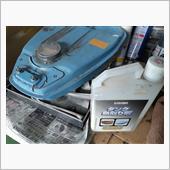 燃料タンク錆取り&塗装