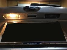 インプレッサ XV ナンバー灯 交換。のカスタム手順1