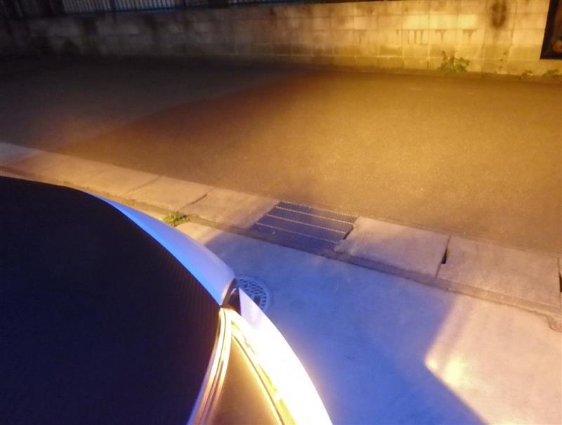 2球合計1200lm LEDウインカーバルブに交換