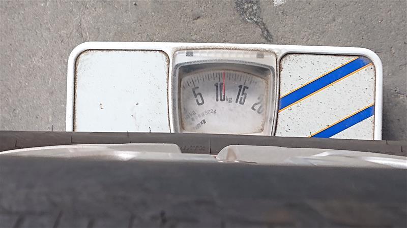2020夏タイヤ交換と重量測定