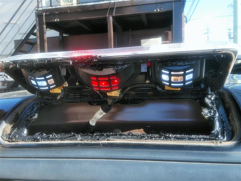 カーゴランプ、ナンバー灯、グローブボックスLED化