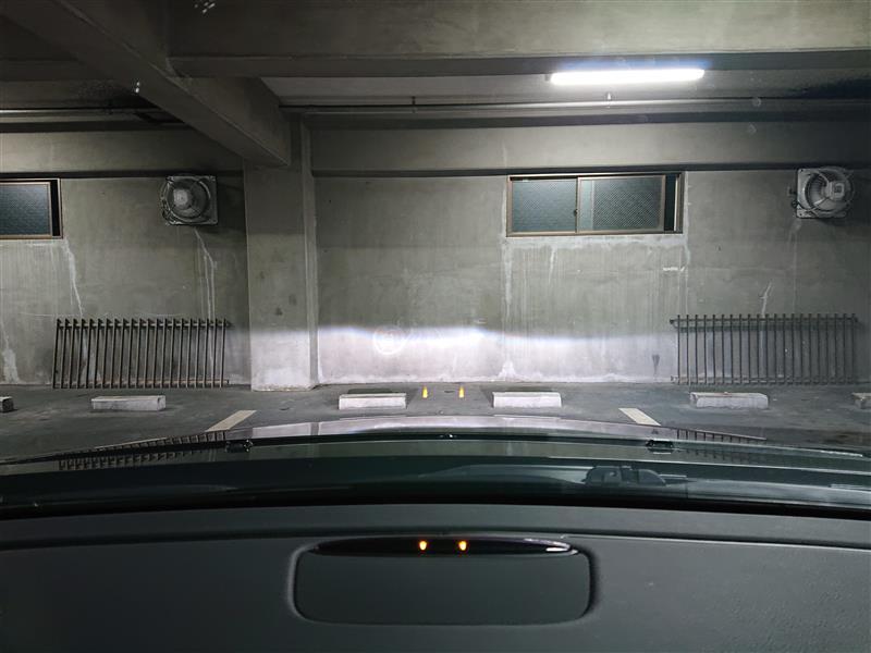ヘッドライト分解清掃 ⑤+パワステF交換+ホーン位置調整