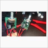 電動ゲートの車載リモコンにオフ遅延回路追加の画像