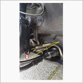 【part2】車高ダウンによるスタビライザーリンクの角度確認 の画像