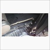 車内の臭い改善!フロアカーペット下簡易清掃。の画像