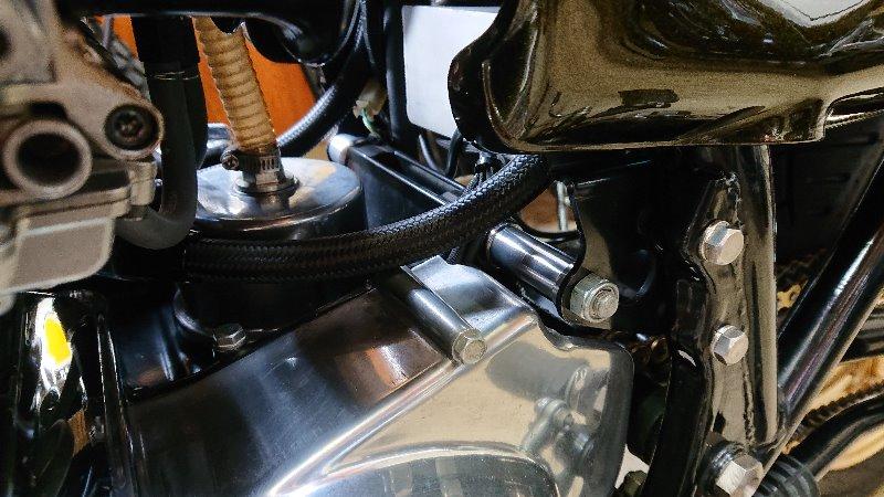 アルミ製エンジンハンガーシャフトカラー