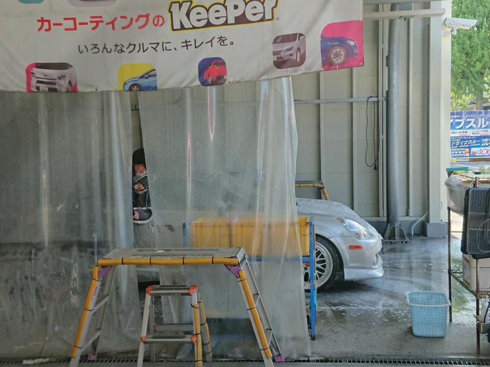 6ヶ月点検&ミネラル取り洗車