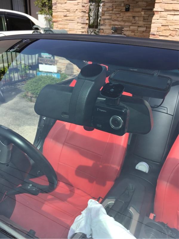 Z4にドライブレコーダーを取り付け。