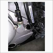 オイルフィラーキャップ交換(AERA AE-71001 ブラック)