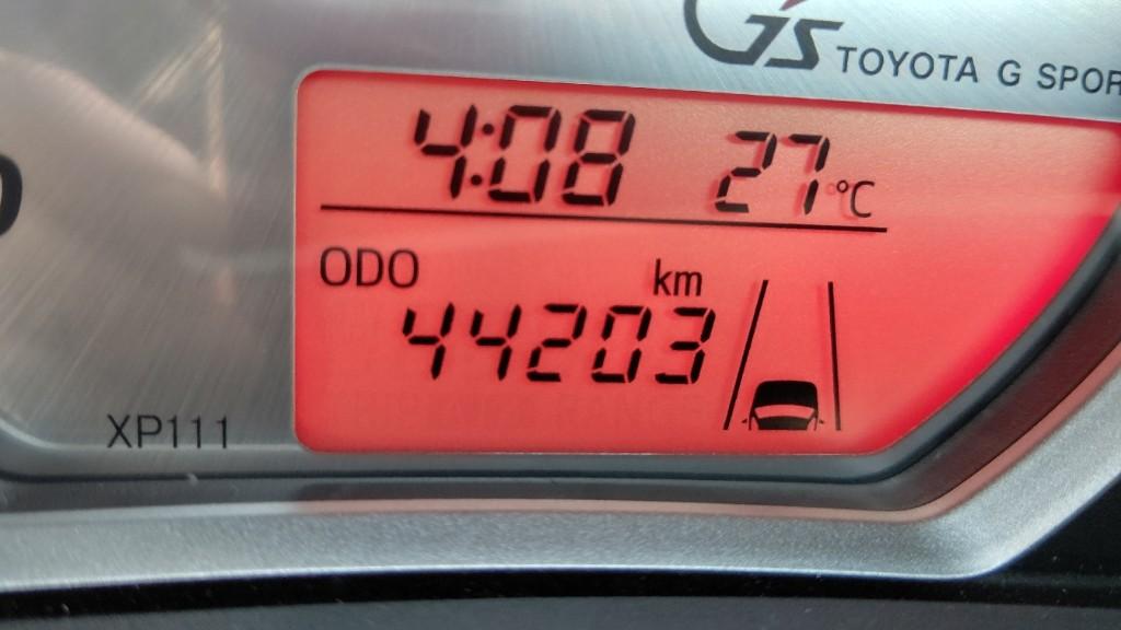 44203km タイヤ交換