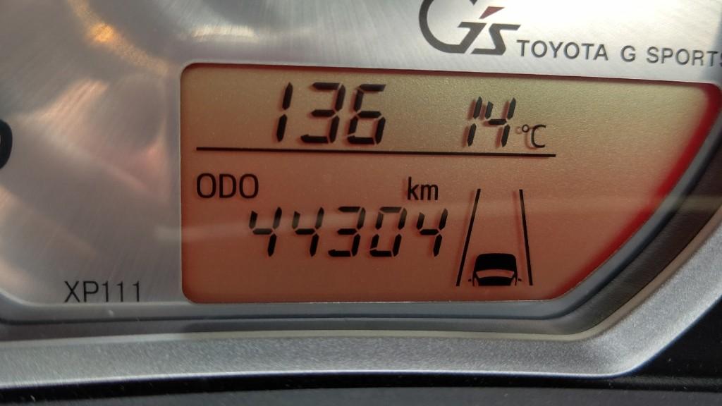 44304km コーティング洗車