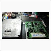 エンジンコンピュータ 電解コンデンサ交換の画像