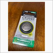 忘れないうちに、備忘録を…<br /> <br /> 使用する電池<br /> CR2032(Panasonic製)